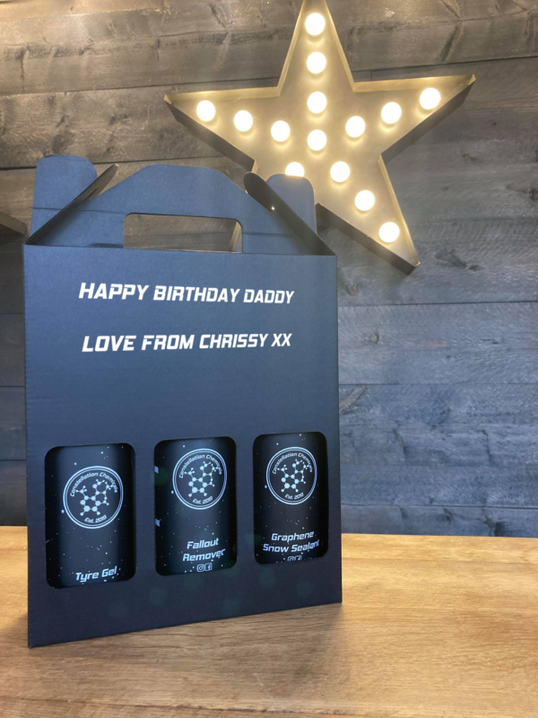 detailing gift pack happy birthday